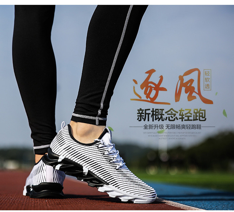 17New Hot Light Running Shoes For Men Breathable Outdoor Sport Shoes Summer Cushioning Male Shockproof Sole Athletic Sneakers 32