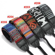 1Pc Camera Accessories Vintage Strape Hippie Durable Cotton Camera Strap for Canon for Nikon for Pentax for Sony SLR DSLR