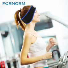 FORNORM Anti-noise Sports Running Sleeping Earphones Bundle Music Headband Nice Sleep Mobile phone Headphones for Iphone Samsung(China)