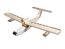 1600mm Seaplane Miss New Orleans Balsa Wood Airplane Model RC Kit (For Gas Power and Electric Power) Woodiness model /WOOD PLANE