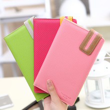 fashion new multifunction ladies The passport holder passport cover passport bag candy color documents folders tickets P5