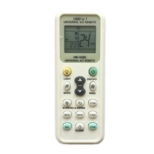 QINYUN UNIVERSAL AIR CONDITIONER REMOTE CONTROL K-1028E with flashlight(China)