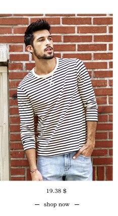 SIMWOOD 2018 Automne À Manches Longues T-shirt Hommes 100% Pur Coton Slim Fit Drôle de Mode De Poche Tops Haute Qualité TC017004 5