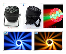 lumiere disco party 19*15w big bee eye led par can lights rgbw par led zoom