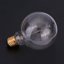 Dimmable G95 Edison Incandescent Bulb Filament Lamp Light 40W Replace Household with box(China)