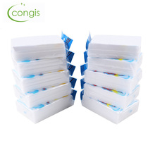 Congis 50PCS/lot 10*7*3.2cm Melamine Sponge Multifunctional Cleaning Magic Sponge Kitchen Bathroom Decontamination Cleaning Tool(China)
