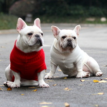 [SWA Dog Sweater] Pet Sweater Suitable for Cats and Dogs, Dog Clothes, Sweater 7 Sizes and 9 Colors French Bulldog Sweater