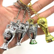 Mini Cup With Key ring trophy figurine 5CM sports memorabilia Resin dolls accessories