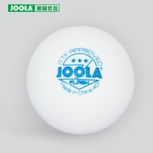 JOOLA 3-Star Plastic Table Tennis Balls Seamless 40+ New Material Poly White Ping Pong Balls ITTF Approved