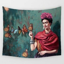 Homing Frida Karlo New Arrivals Tapestry Throws Blanket Beach Towel Travel Picnic Blanket Beach Towel Quick Dry Tapestry