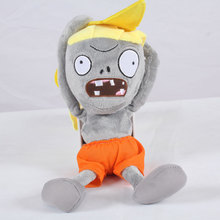 Newest Plants vs Zombies Plush Toy 30cm PVZ Surfing Zombies Plush Doll for Kids Children Gift