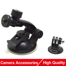 Buy Gopro SJ4000 Accessories Car Sucker Holder Mount Suction Cup Go Pro Hero 5 4 3 SJCAM EKEN H9 Xiaomi Yi Action Camera for $4.86 in AliExpress store