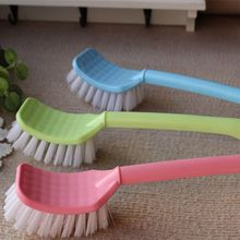 1PC Color Random Toilet Brush Bathroom Cleaner Dust Scrubber Cleaning Tool Long Handled Corner Brush Multipurpose Household Tool