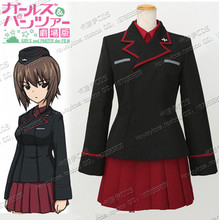 New Arrival New Anime GIRLS und PANZER Cosplay Cosplay Custom Made Uniform