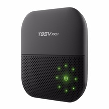 T95V PRO 2GB SDRAM 16GB FLASH Amlogic S912 Android TV Box Octa-core KD Player 5G WIFI BT 4.0 4K H.265 Media Player Smart TV Box(China)