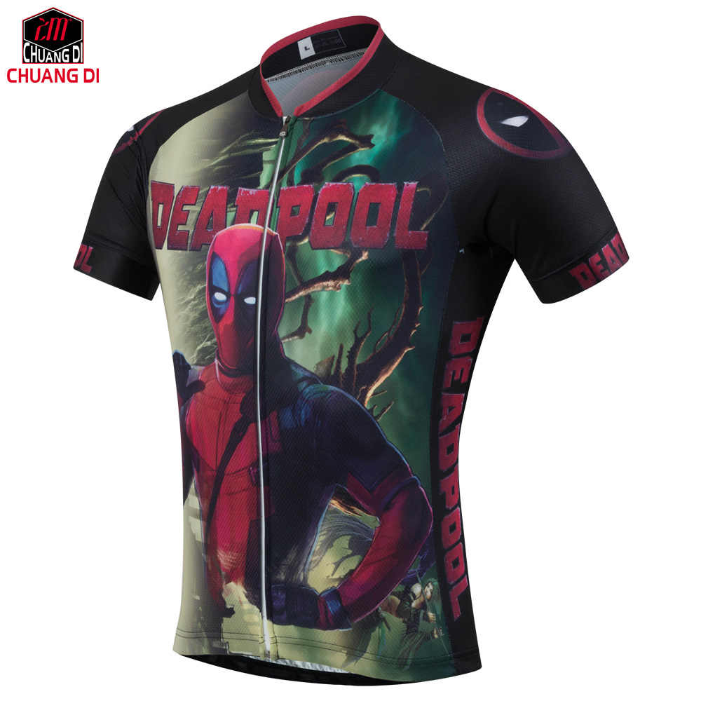 Detail Feedback Questions about New Arrive American Comic Badass Deadpool T  Shirt Tees Men Women Cartoon Characters 3d Cycling jerseys Funny sports  jerseys ... 905d79f29