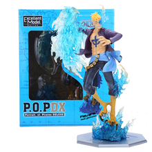 Anime One Piece P.O.P POP DX MAS Marco The Phoenix Battle Ver. Boxed PVC Action Figure Collection Model Toy OPFG340