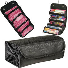 Make Up Cosmetic Bag Case Women Makeup Hanging Toiletries Travel Kit Jewelry Organizer Cosmetic Case Fashion Portable Storage