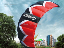 free shipping high quality F3 square meters quad line power kite surf luna quad kites doraemon big cerf volant bar strand fact