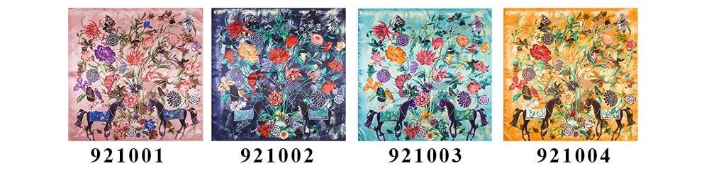 Floral Print Scarf (5)