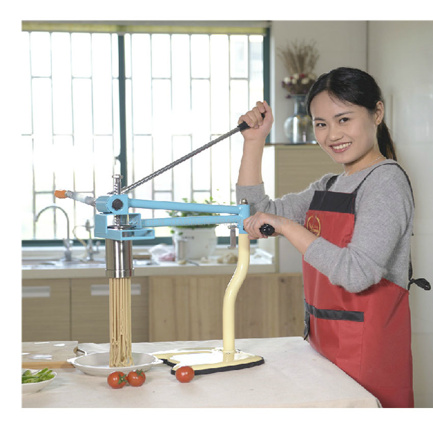 1PC Stainless steel household noodle machine 2016 new type instant noodle making machine<br>