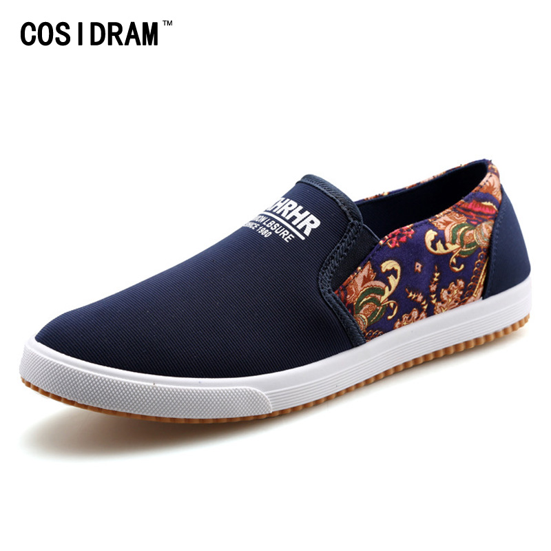 Spring Summer Printing Patchwork Men Casual Shoes Canvas Leisure Driving Shoes For Men Shoes 2017 Male Gumshoe Plimsolls RMC-713<br><br>Aliexpress