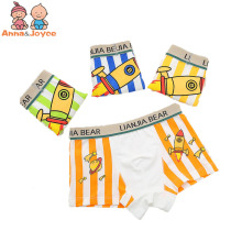 4 Pcs/lot Boys Boxer  Children Underwear Male Cotton Baby Underwear Children Underpants  ATNM3071