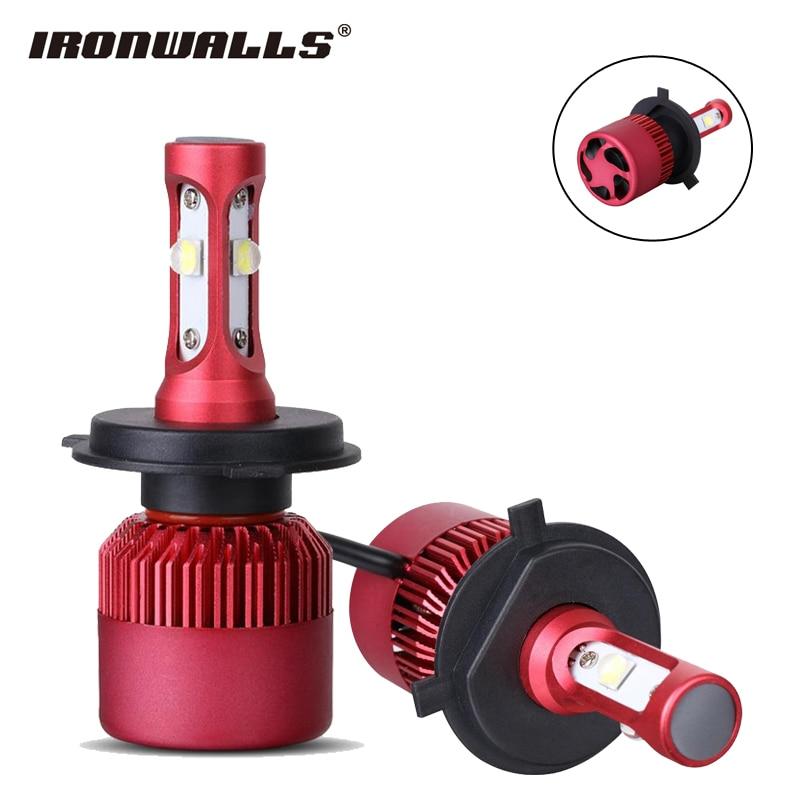 Super Bright Car Headlight Bulbs H4/H7/H11 Hi-Lo Beam CREE XHP50 Chips 80W 9600lm 6500K All in one Led Fog Light Head Lamp<br><br>Aliexpress