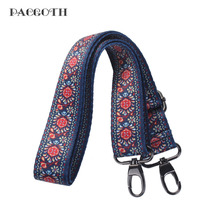 PACGOTH 2017 Vintage Cotton Bra Straps Bag Part & Accessories Dandelion Pattern Hold For Bags Purse 75cm, 1 Piece
