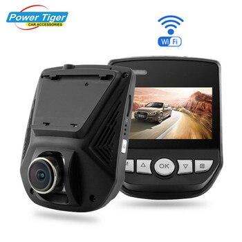 Автомобильный ВИДЕОРЕГИСТРАТОР Recorder WiFi FHD 1080 P 170 Широкоугольный Приборной Панели Видеокамера Даш Cam с G-Sensor WDR Ночного Видения Парковка монитор