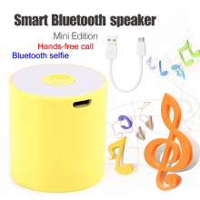 5 Colors Wireless Bluetooth Speakers Mini Portable Speaker Smart Hands Free Speaker MP3 Palyer caixa de som +USB Cable