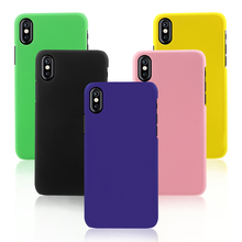 Buy Smartphone Case iPhone 8 Cases Rubberized Plastic Hard Back Phone Cover Apple iPhone8 Shells Fundas Bag for $1.47 in AliExpress store