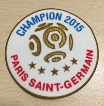 2015 Ligue 1 Champion Patch 5 Star Champion Soccer Patch Badge