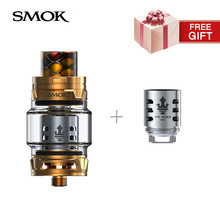 promotion tfv12 prince q4 coil free if buy tfv12 prince tank 8ml Top filling electronic cigarette tank atomizer(China)