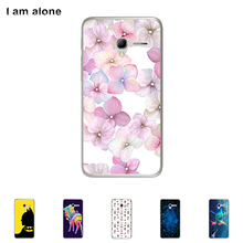 Soft TPU Silicone Case For Alcatel Pop 3 (5) 5.0 inch Cellphone Cover Mobile Phone Protective Skin Mask Color Paint