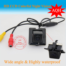 Color CCD HD car rear view camera parking monitor reverse camer backup camera for toyota 2011  PRADO night vision
