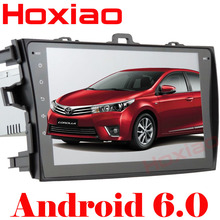 Car dvd player for Toyota corolla 2007 2008 2009 2010 2011 in dash 2 din 1024*600 Android 6.0 gps navigation