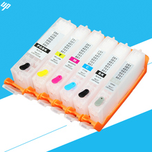 6PCS PGI-250 PGBK CLI251 BK C M Y GY for canon MG6320 MG7120 MG7520 IP8720 refillable ink cartridge with ARC chip pgi250 pgi 250(China)