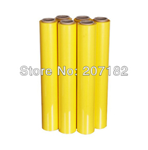 One Roll 0.5 x 20M Yellow Color Material MATTE Heat Transfer Vinyl,Cutting Plotter Film, Heat Transfer Film(China)