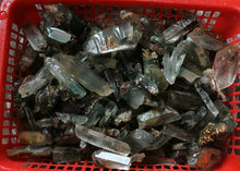 1LB 450g Rare Raw Natural Phantom Ghost Clear Quartz Crystal Rough Stones from Brazil.Wholesales Price !!, Free Shipping !!