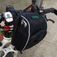 3L Bicycle Handlebar Bags Cycling Front Bags Basket Bike Accessories For Mobie Phone Holder Pannier  Case Pouch