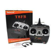 RadioLink T8FB 8CH Transmitter with R8EH Receiver Supporting FUTABA S-BUS PPM PWM for RC Helicopter Drone with USB Cable