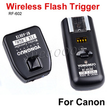 YONGNUO RF-602 2.4GHz Wireless Flash Trigger Receiver with Studio Cord for Canon 600D 550D 450D 1100D Camera