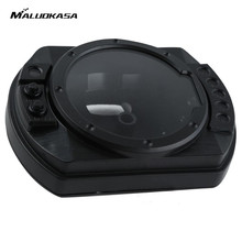 MALUOKASA Speedometer Tachometer Instruments Case Cover For Kawasaki Z1000 Z750 ZX6R 636 2003 2004 2005 2006 ZX10R 2004 2005(China)