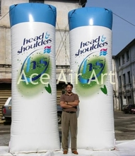 inflatable advertising product shampoo model inflatables for promotion with customized logo(China)