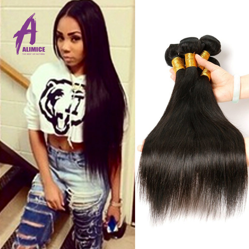 5 Bundles Of Virgin Brazilian Hair Wholesell Brazilian Straight Hair Queen Hair Products Cheap Human Hair Extension NaturalBlack<br><br>Aliexpress