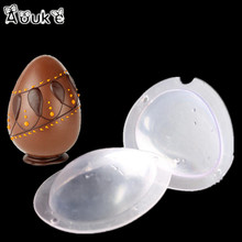 3D Dinosaur Eggs Shape Chocolate Mold Transparent Silicone Mold DIY Cake Decoration Tools Biscuits Mould  Fondant Candy Molds