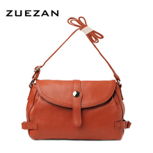 NEW Women Genuine Leather shoulder bag Real Skin handbag 100% cowhide Fashion crossbody bags for girl A078