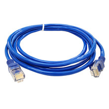 Best Price 3.3ft ft Blue Ethernet Internet LAN CAT5e Network Cable for Computer Modem Router