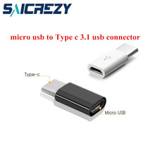 USB Type C to 5pin Micro USB Charger USB C Type-c Adapter connector for Samsung s8 plus xiaomi mi 5 6 ZUK Z2 One Plus 3t htc 10